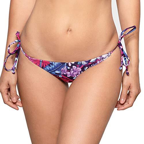RELLECIGA bañador Braguita Bikini para Mujer Tangas Thong Bottom