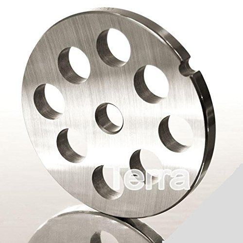 Lochscheibe - für Fleischwolf Größe 10 & 12 - 12 mm Lochdurchmesser