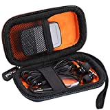 Mchoi Hard EVA Travel Case for Victure MP3 Player Clip Bluetooth 8G/G-Technology 1TB G-Drive Mobile SSD External Storage(2021 Version)