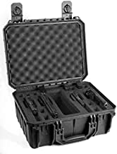 product image for Black Seahorse 4 Pistol Carrying/Range case. Holds 4 Pistols and 12 Magazines.