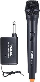 Micrófonos de mano inalámbricos Ammoon Micrófono unidireccional Amplificador de voz dinámico para promoción de ceremonias de Karaoke