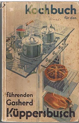 Kochbuch für den führenden Gasherd Küppersbusch