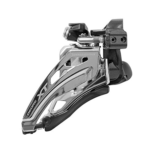 SHIMANO Deore XT M8000 Down Pull Front Derailleur - Double - 34.9mm clamp Null Null