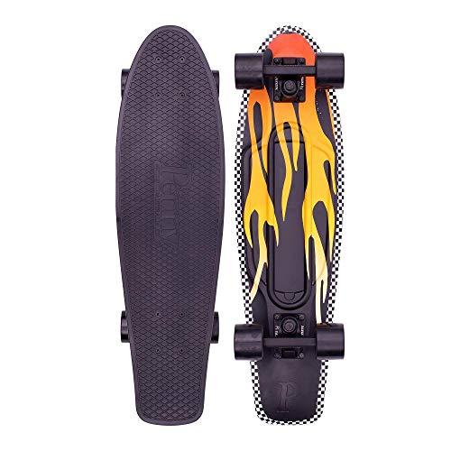 Penny monopatin Skate Skateboard Cruiser 27¨ Flame Black Yellow