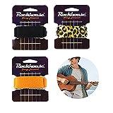 3 Piezas Silenciador de Cuerda,Silenciador de Cuerdas de Guitarra, String Muter,Amortiguador de Cuerda de Guitarra,Cuerda Mute para Bajo,Reductor Ruido Silenciador Cuerdas de Instrumentos