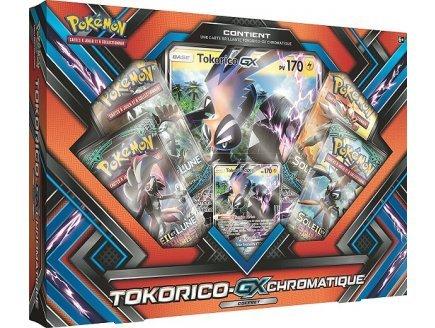 Caja de Navidad 2017 – Tokorico gx cromático – Asmodee – versión francesa – Tarjeta Pokemon