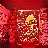 Tatapai ナイトライト僕のヒーローアカデミア僕のヒーローアカデミア霧島英二郎3DアニメランプカラーチェンジングナイトライトforHome Decoration