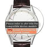 VacFun 3 Pezzi Trasparente Pellicola Protettiva, Compatibile con Tissot T-Touch Expert Solar II (Non Vetro Temperato) Protezioni Schermo Cover Custodia
