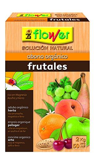 Flower 70562 70562-Abono orgánico frutales, 2 kg, No Aplica