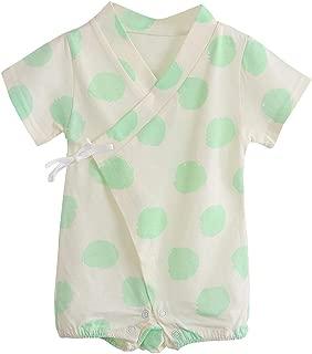 Vkasd Newborn Baby Girls Boys First Birthday Clothes Strap Backless Ruffle Romper Overalls Onesie Bodysuit Outfits Set