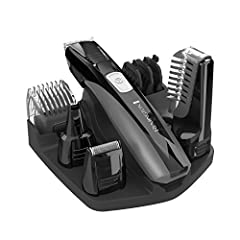 9 attachments for all your grooming needs: Full Size Trimmer; Foil Shaver; Nose, Ear, and Detail Trimmer; Vertical Body Hair Trimmer; Hair Clipper Comb with 8 Length Settings; 3 Beard and Stubble Combs Lithium Power with up to 70 minutes of cordless ...