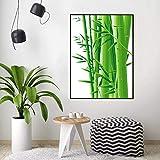 DtdsyI Colorear por números Planta DIY Pintado a Mano Pintura por números Naturaleza Muerta bambú Regalo decoración del hogar Arte de Pared