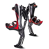 NOBLJX Carbon Fiber Jumping Stilts, Bionic Bounce Shoes Strong Support Cushioning Increase Friction Grip Exercise Bones Running Sprint, for Fitness Extreme Sports