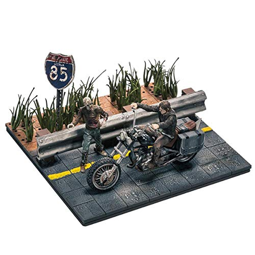 McFarlane Walking Dead Tv Building Set Daryl Dixon