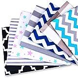 Tela algodon Telas Patchwork 7 piezas 50 x 80 cm - Retales Tela para coser,...