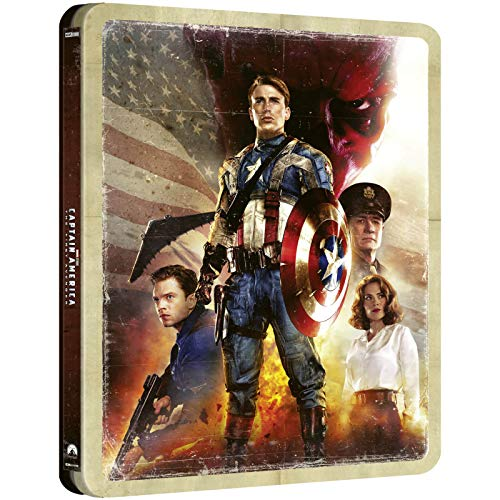 Captain America: The First Avenger 4K Limited Edition Steelbook / Import / Includes Region Free Blu Ray