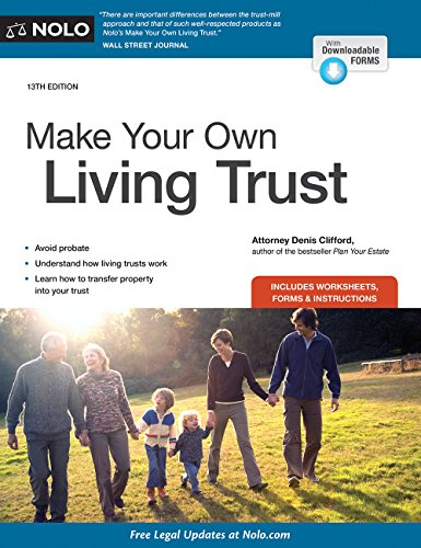Compare Textbook Prices for Make Your Own Living Trust Thirteenth Editon Edition ISBN 9781413323399 by Clifford Attorney, Denis