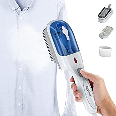Clothes Steamer, Housmile Garment Steamer 70ml Fast Heat-up Handheld Portable Fabric Steamer with Brush for Clothes, for Home and Travel
