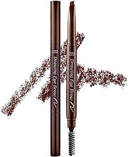 ETUDE HOUSE Drawing Eye Brow 0.25g #1 Dark Brown | Long Lasting Eyebrow Pencil | Soft Textured Natural Daily Look Eyebrow Makeup