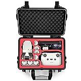 LEKUFEE Funda rígida impermeable compatible con el nuevo DJI Mini 2 Drone y más accesorios Mavic Mini 2