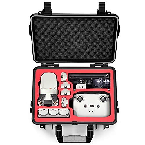 LEKUFEE Custodia Rigida Impermeabile per DJI Mini 2 Drone e Accessori Mavic Mini 2 (NOT Includere Droni e Accessori)