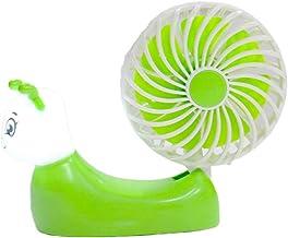 HUI JIN - Mini ventilateur de bureau à suspendre - Portable - Pliable - Sans feuilles - Pour enfants - En plein air
