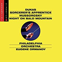 Dukas: Sorcerer's Apprentice / Mussorgsky: Night on Bald Mountain (2002) Audio CD