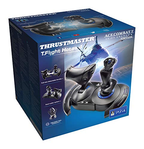 T-FLIGHT HOTAS 4 Manette pour PS4/PS4 PRO/PC/Ace Combat 7 Edition