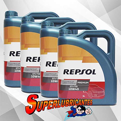 Mundocoche Repsol Elite Premium TDI-GTI 10W40 4x5L(20Litros)