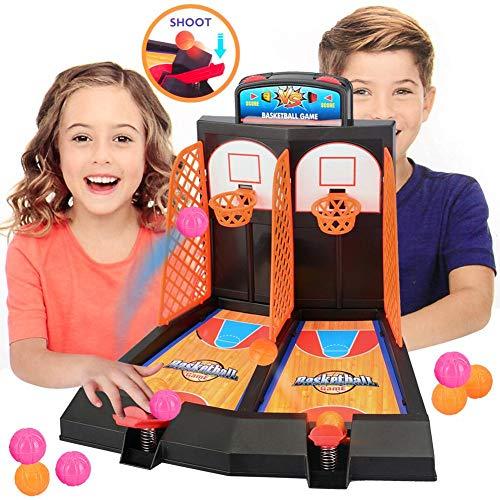 Xiton 1set Classic Arcade Hoops Basketball Mini Jeux Jeu De Tir Jouets Finger Sport Jeu Bureau Table Sports Jouets pour Adultes Enfants