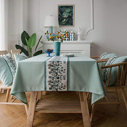Outdoor tafelkledenDecoratieve Tafelkleed Rechthoek Tafelkleed Keuken Tafeldoeken Party Banket Waterdichte Eettafel Cover Home Decor Vintage