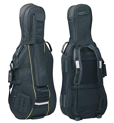 PURE GEWA Gig-Bag per Cello Classic CS 25 nero per dimensione 4/4
