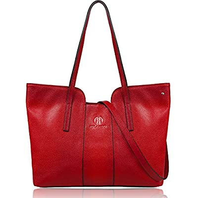 YOLANDO Women Genuine Leather SOFT Tote Bag With Shoulder Straps YTG01