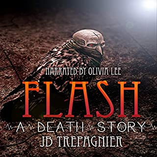 Flash - a Death Story audiobook cover art