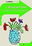 Calligrammes - Poèmes de la paix et de la guerre (1913-1916) by Guillaume Apollinaire (2008-09-11) - Belin - Gallimard - 11/09/2008