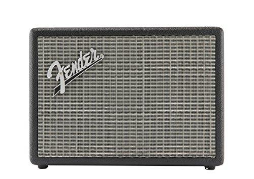 Fender Monterey - Altavoz con tecnología Bluetooth (Sistema Quad-Driver, micrófono Incorporado) Color Negro