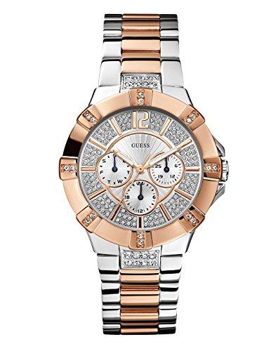 Guess Damen-Armbanduhr Analog Quarz Edelstahl WOO24L1