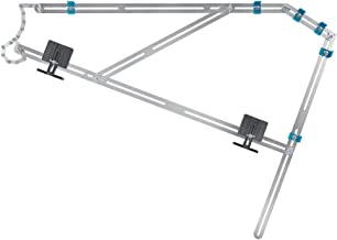 wolfcraft Trapmal 5210000 – meetgereedschap voor de trapbouw – trapsjabloon voor het overbrengen van trappen – ook ideaal ...