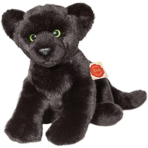 Hermann Teddy Collection 904564 - Plüsch-Panther, 32 cm