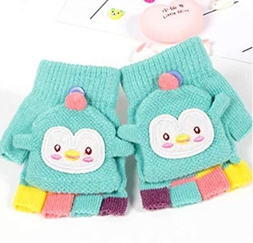 SUNHAO Gants d'hiver pour Enfants avec Bande de Protection pour banderoles épaisses et Chaudes pour bébés