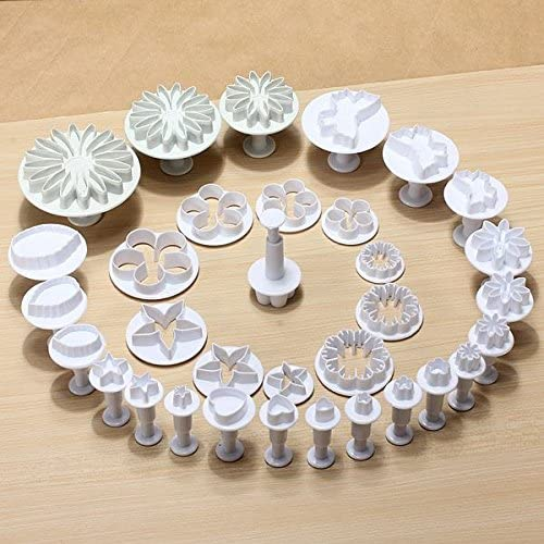 10 Sets 33pcs Fondant Kuchen Form Set 03105