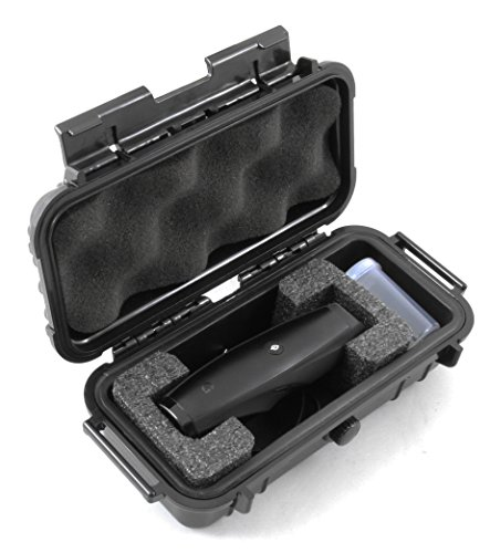 CloudTen Smell Proof G Pen Elite Case Compatible with Snoop Dogg Gpen Elite by Grenco Science, Charger and Small Accessories in Custom Foam, Includes Complimentary Herb Canister with Case Only