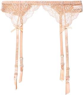 Women's Lace Garter Belt for Thigh High Stockings