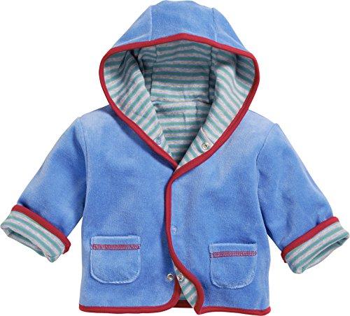 Schnizler Wende-Jacke Nicki Traktor Blouson, Bleu (Blue 7), Naissance (Taille Fabricant:50) Mixte bébé