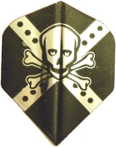 5 Sets #32225 Lowest Free shipping on posting reviews price challenge AmeriThon Silver Flights Skull Dart Bones