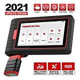 thinkcar OBD2 Scanner, ThinkScan Max Full System Diagnostic Scan Tool with Bluetooth Adapter, Diagnostic OBD2 Code Reader with 28 Maintenance Services, Full OBD2 Functions, Lifetime Free Update