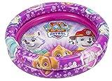 Paw Patrol La Patrulla Canina- Paw PATRO Girl Piscina Hinchable 90 cm (Saica 2215)