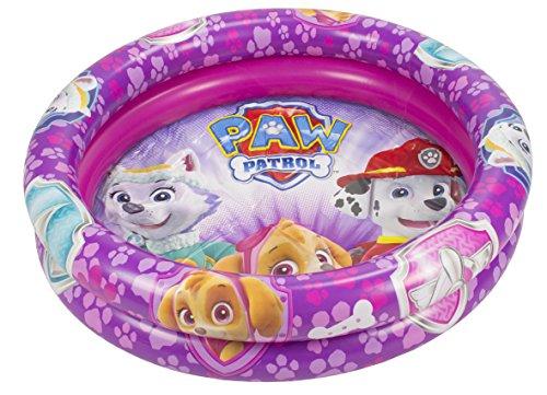 Paw Patrol Patrol Patrol Paw Paw Patrol Girl Piscine Gonflable 90 cm (Saica 2215), Couleur Rose, Moyen