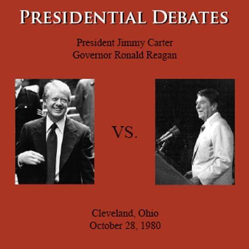 Ronald Reagan, Jimmy Carter, Howard K. Smith, Marvin Stone, Harry Ellis, William Hilliard, Barbara Walters