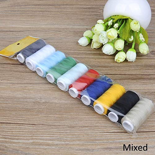 Why Should You Buy LLLNHQ 5Pcs Polyester Sewing Accessories Durable Sewing Thread Multicolor Embroid...